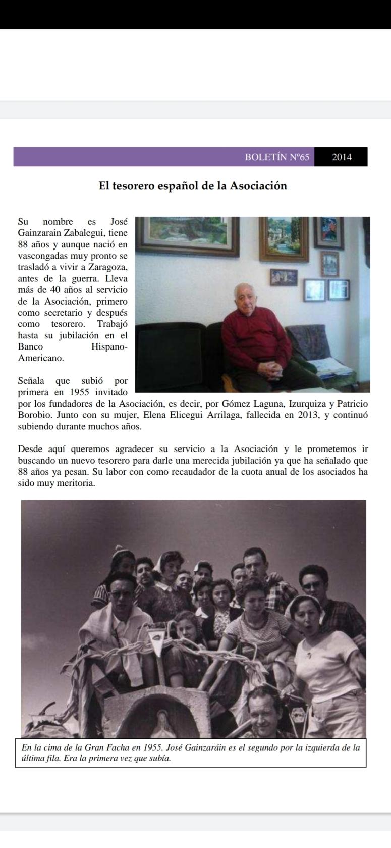 Interview José Gainzarain Zabalegui